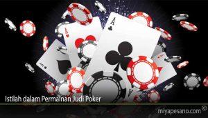 Istilah dalam Permainan Judi Poker